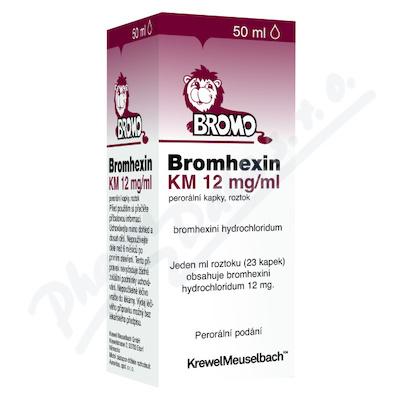 Bromhexin KM 12mg/ml por.gtt.sol.50ml