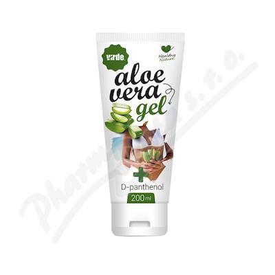 Aloe vera gel s D-panthenolem 200ml
