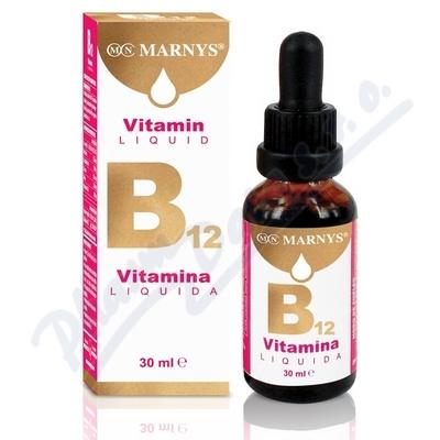 Tekutý Vitamin B12 30ml