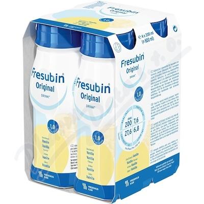 Fresubin Original vanilka por.sol.4x200ml