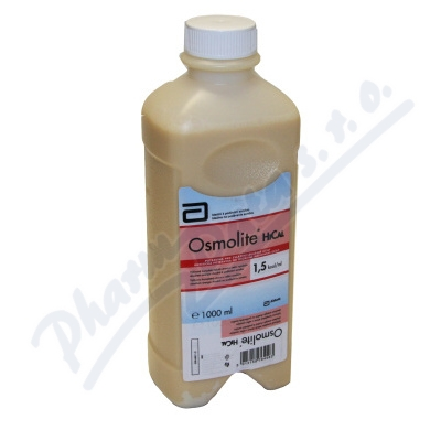 OSMOLITE HiCAL por.sol.1x1000ml 1.5 kcal/ml