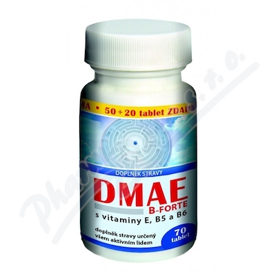 DMAE B-FORTE tbl.50+20 ZDARMA