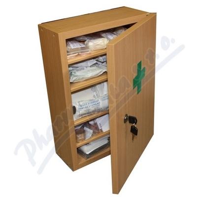 Lékárnička nást.dřev.bílá do 30 osob Steriwund
