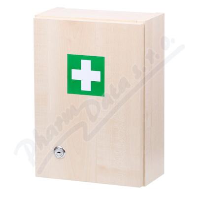Lékárnička dřevěná s náplní ZM05 5 osob