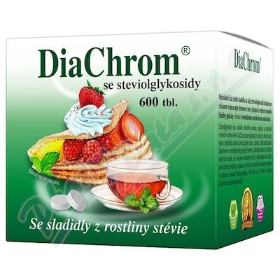 DiaChrom se steviolglykosidy tbl.600