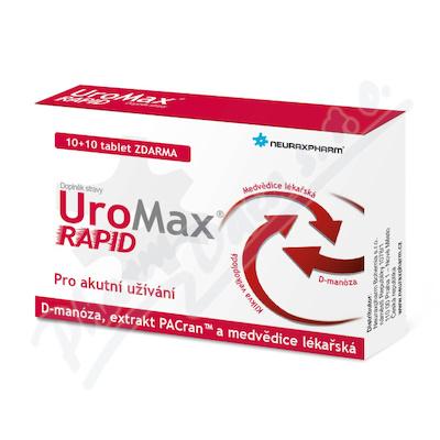 UroMax Rapid tbl.10+10 Zdarma