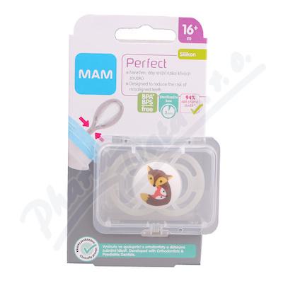 MAM Dudlík Perfect od 16+měsíců silikon 1ks