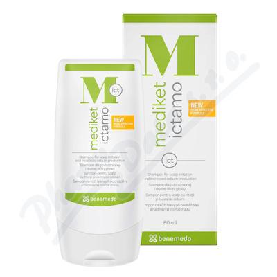 Mediket Ictamo šampon mastné lupy a seborea 80ml