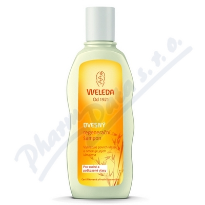 WELEDA Ovesný regen. šampon suché pošk.vlasy 190ml