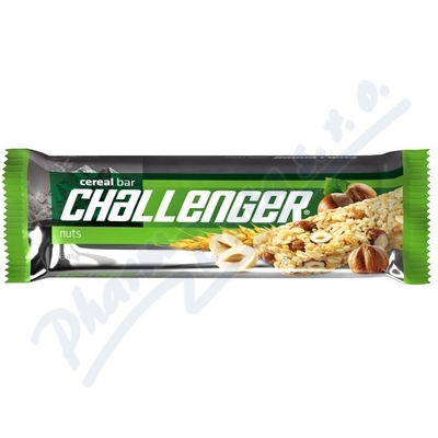 Fit Musli tyčinka Challenger ořechová 45g
