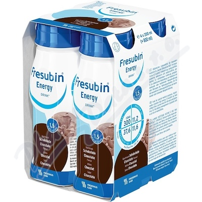 Fresubin Energy drink čokoláda por.sol.4x200ml
