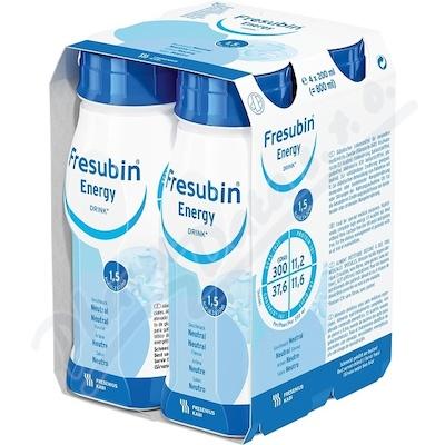 Fresubin Energy drink neutral por.sol.4x200ml