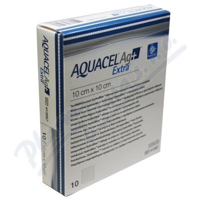 Aquacel Ag+ extra 10x10cm 10ks