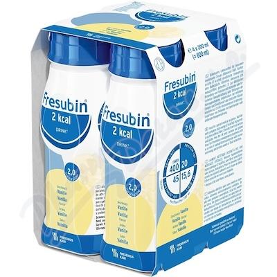Fresubin 2kcal drink vanilka por.sol.4x200ml