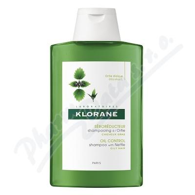 KLORANE Šampon kopřiva na mastné vlasy 200ml