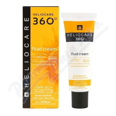 HELIOCARE 360° Fluid Cream SPF50+ 50ml
