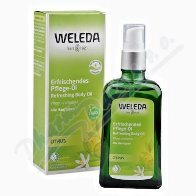 WELEDA Citrusový osvěžující olej 100ml