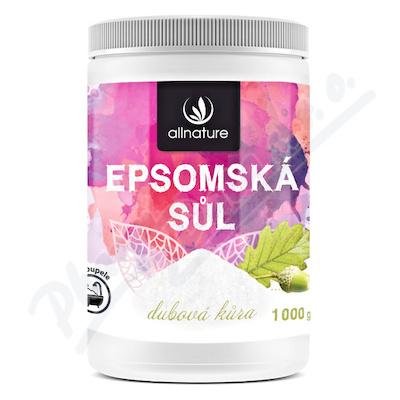 Allnature Epsomská sůl Dubová kůra 1000g