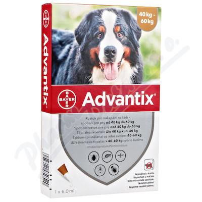 Advantix pro psy 40-60kg spot-on 1x6ml