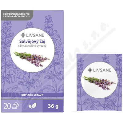 LIVSANE Čaj šalvějový 20 sáčků
