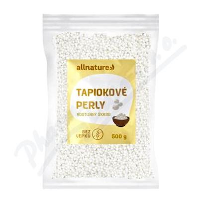 Allnature Tapiokové perly 500g