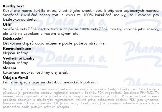 Nacho Tortilla Chips 400g