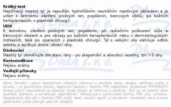 Krytí sterilní-mastný tyl 20x27cm/1ks Steriwund