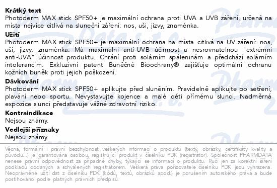 BIODERMA Phot.MAX tyč.na rty a citl.místa SPF50 8g