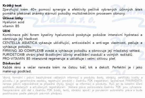 EVELINE HYALURON CLINIC 40+ Denní/noční krém 50ml