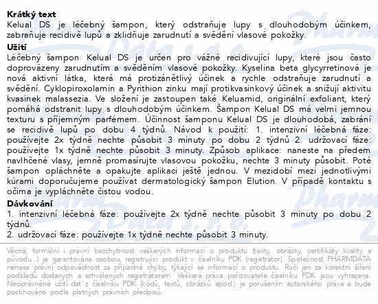 DUCRAY Kélual DS Šampon proti lupům 100ml