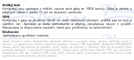 Gáza hydr.kompr.ster.10x20cm/2ks Steriwund