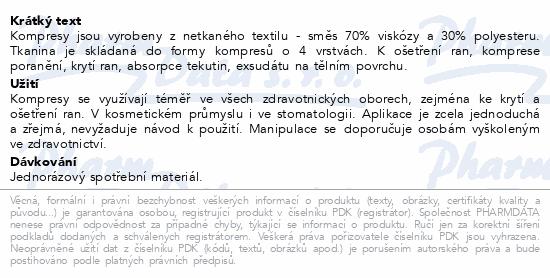 Kompres netk.text.nest.5x5cm/100ks Steriwund