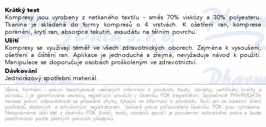 Kompres netk.text.nest.7.5x7.5cm/100ks Steriwund