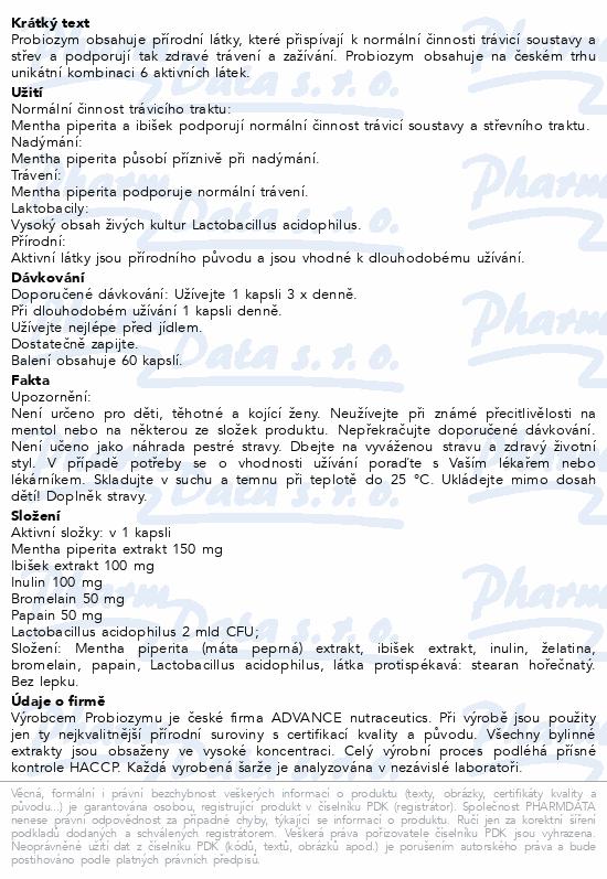ADVANCE Probiozym cps.60