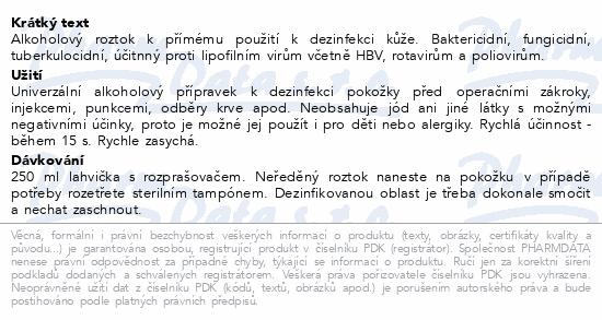 Softasept N bezbarvý sprej CZ/SK 250ml