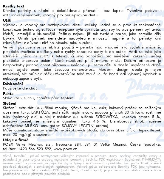 Dexi Křehké peřinky s čoko.příchutí bezlep.150g