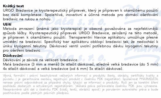 URGO Bradavice kryoterapie 38ml